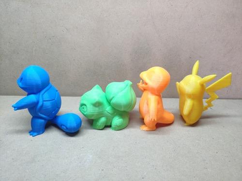 pikachu bulbasaur charmander  squirtle y mas 8cm
