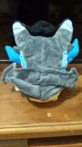 pikachu charizard x cosplay peluche 20cm alola ash moon a9