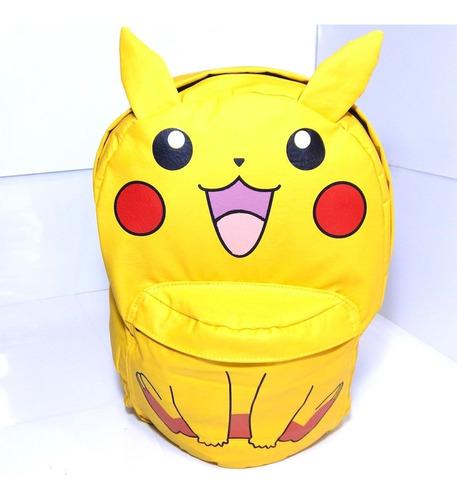 pikachu mochila escolar pokemon vinipiel orejitas mouse