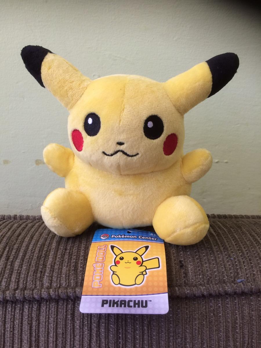 Pikachu Pokedoll Peluche Original Pokémon Center