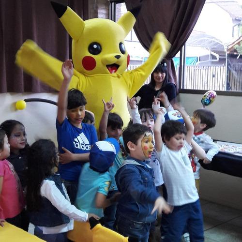 pikachu, pokemon, decoración animación cumpleaños