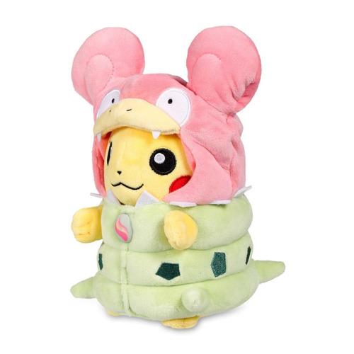 pikachu slowbro cosplay peluche 20cm alola ash moon 3ds a14