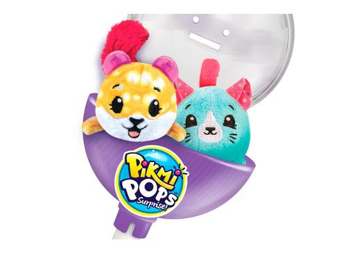 pikmi pops pack de dos peluches perfumados con exhibidor