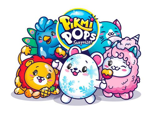 pikmi pops peluche perfumado con exhibidor