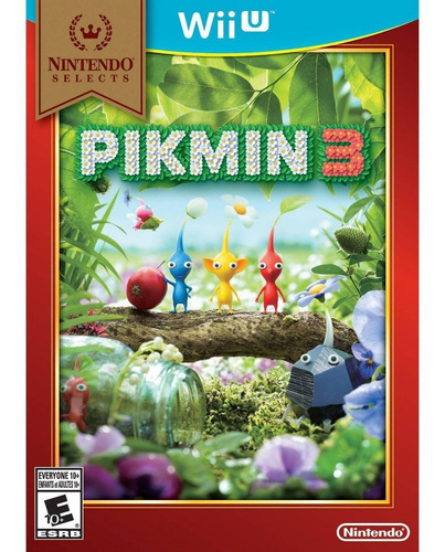 pikmin 3 juego original sellado wii u