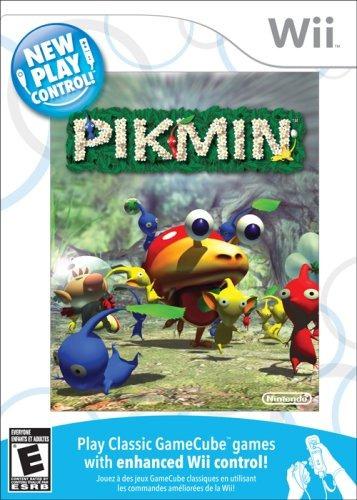 pikmin, nuevo control de juego - nintendo wii