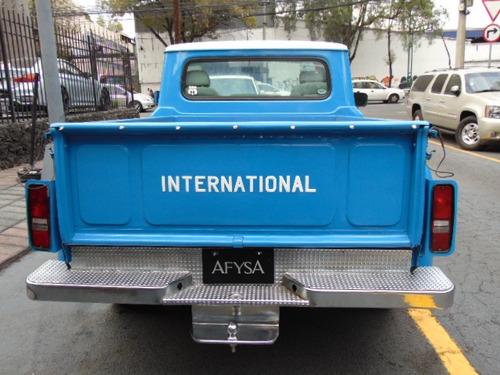pikup international 1971 v8 402 recién restaurada impecable