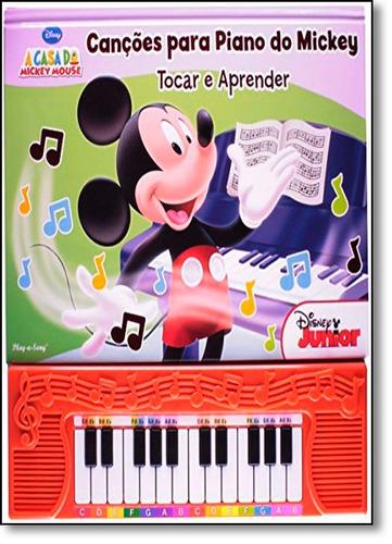 pil disney cancoes para piano do mickey toc de disney