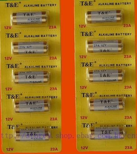 Pila 12v 23a alkalina control remoto sensores alarmas u - Pila 23a 12v ...
