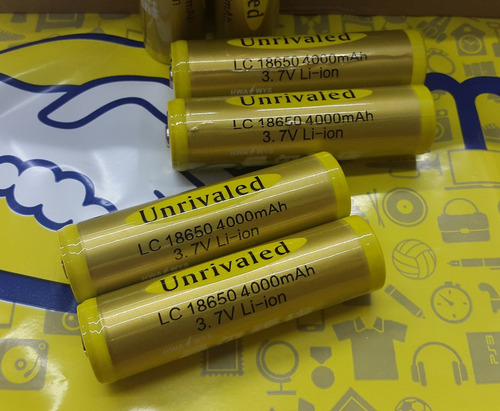 pila 18650 recargable bateria lc18650 4000mah 3.7v cargador