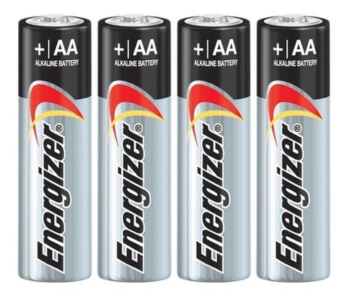 pila aa alcalina energizer blister por 4 unidades.