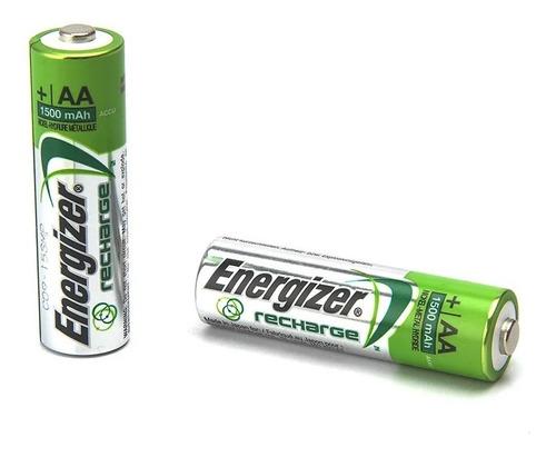 pila aa recargable energizer pack x 2