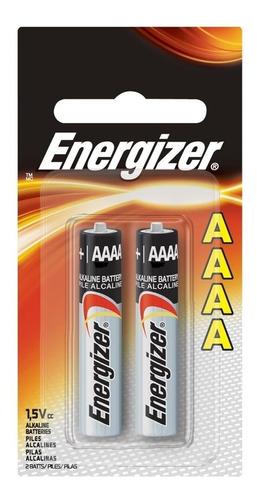 pila aaaa - energizer - alcalina - 2 unidades