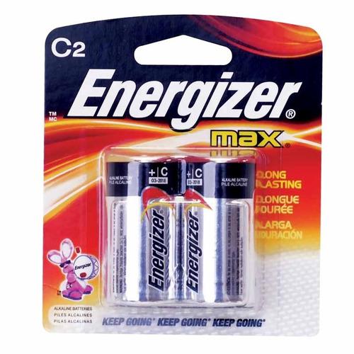 pila alcalina c energizer 2 pzas para radios, juguetes hm4