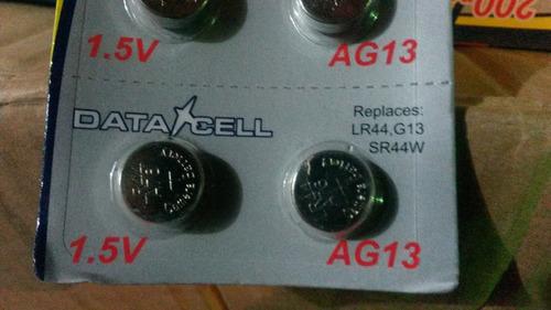 pila  alcalina tipo boton ag-13 o lr44 / lr1154 ,a76 de 1.5v