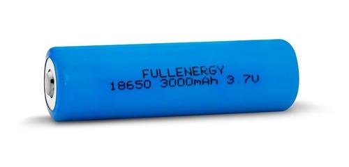 pila bateria 18650 3.7v 3000mah regargable de litio full