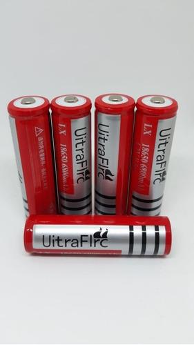 pila batería 18650 recargable 3.7v 6800mah li-ion linternas