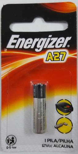pila bateria a27 alkalina por unidad control llave auto, etc