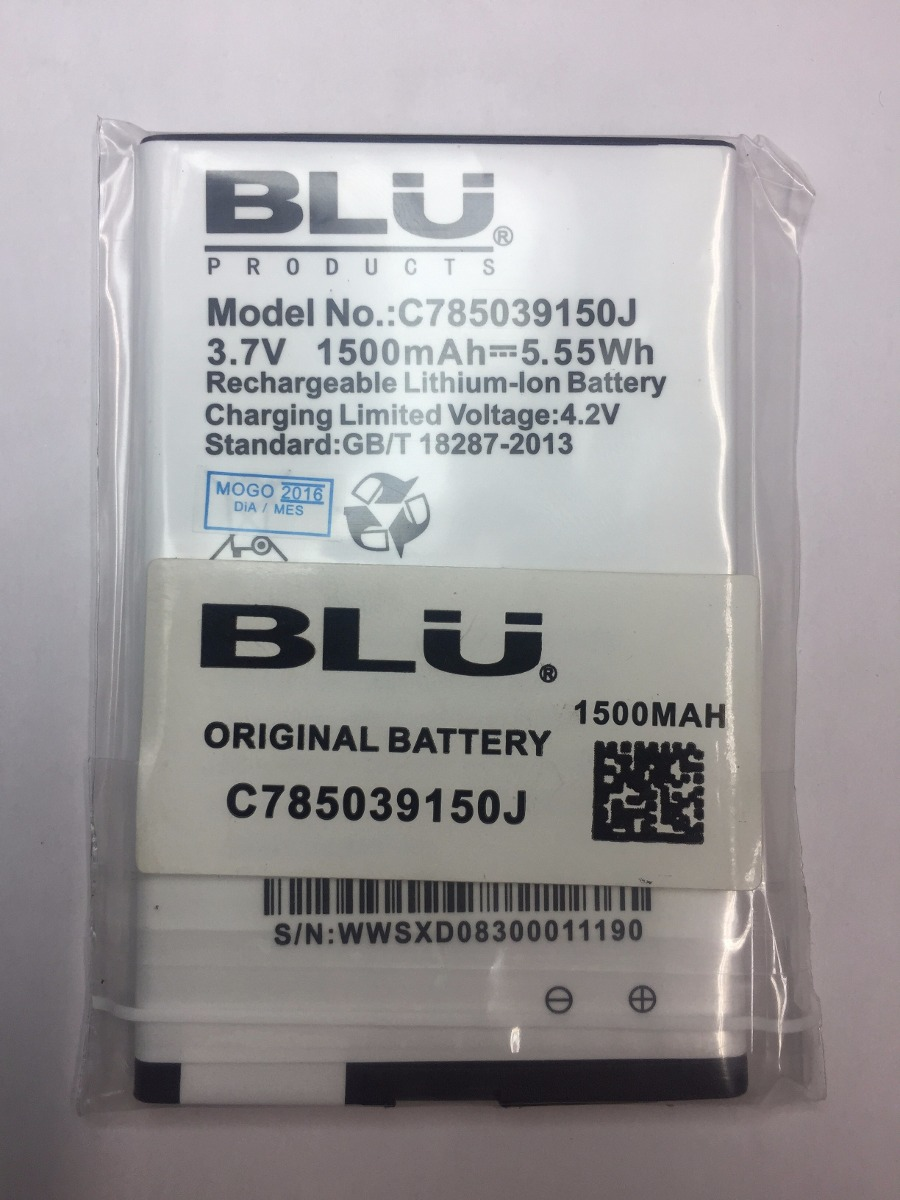 8cae74ac328 Pila Bateria Blu Dash Jr. 4.0k D143k / D142k 9150j Orig. - Bs ...