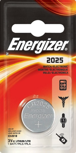 pila bateria energizer cr 2025 tipo boton litio 3v reloj pc