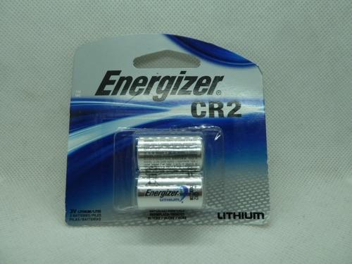 pila / batería energizer cr2 blister  de 2 und  litium 3v