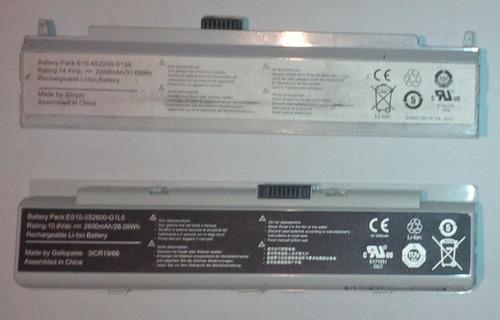 pila bateria laptop e11-3s2200-g1l3 compatible con ca#aima