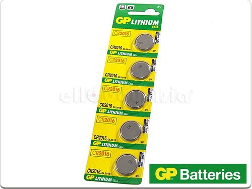 pila bateria litio cr2032 cr2016 cr2025 paquete de  5 pilas