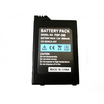 pila bateria para sony psp slim  3.6v 2400mah 3001 , 3000