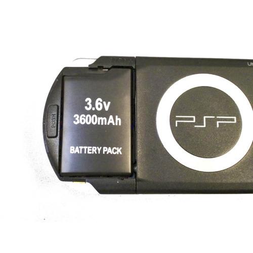 pila bateria para sony psp slim  3.6v 2400mah psp 2000/3000