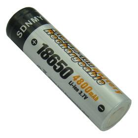 Pila Bateria Recargable 18650 De 4800 Mah Ion Litio