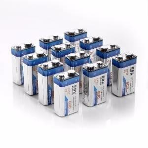 pila bateria recargable 9v 280mah ni mh ebl
