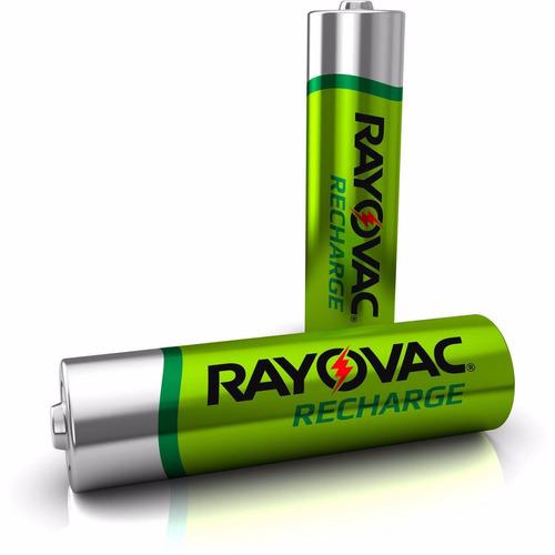 pila bateria recargable aaa rayovac de 600 mah 4 pack