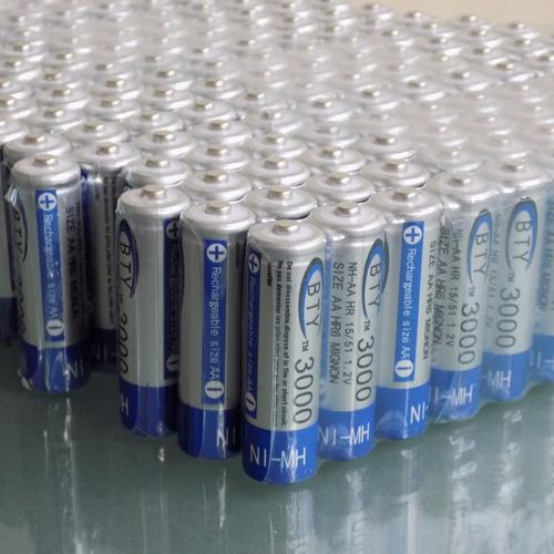 pila bateria recargable bty aa 3000mah + garantia