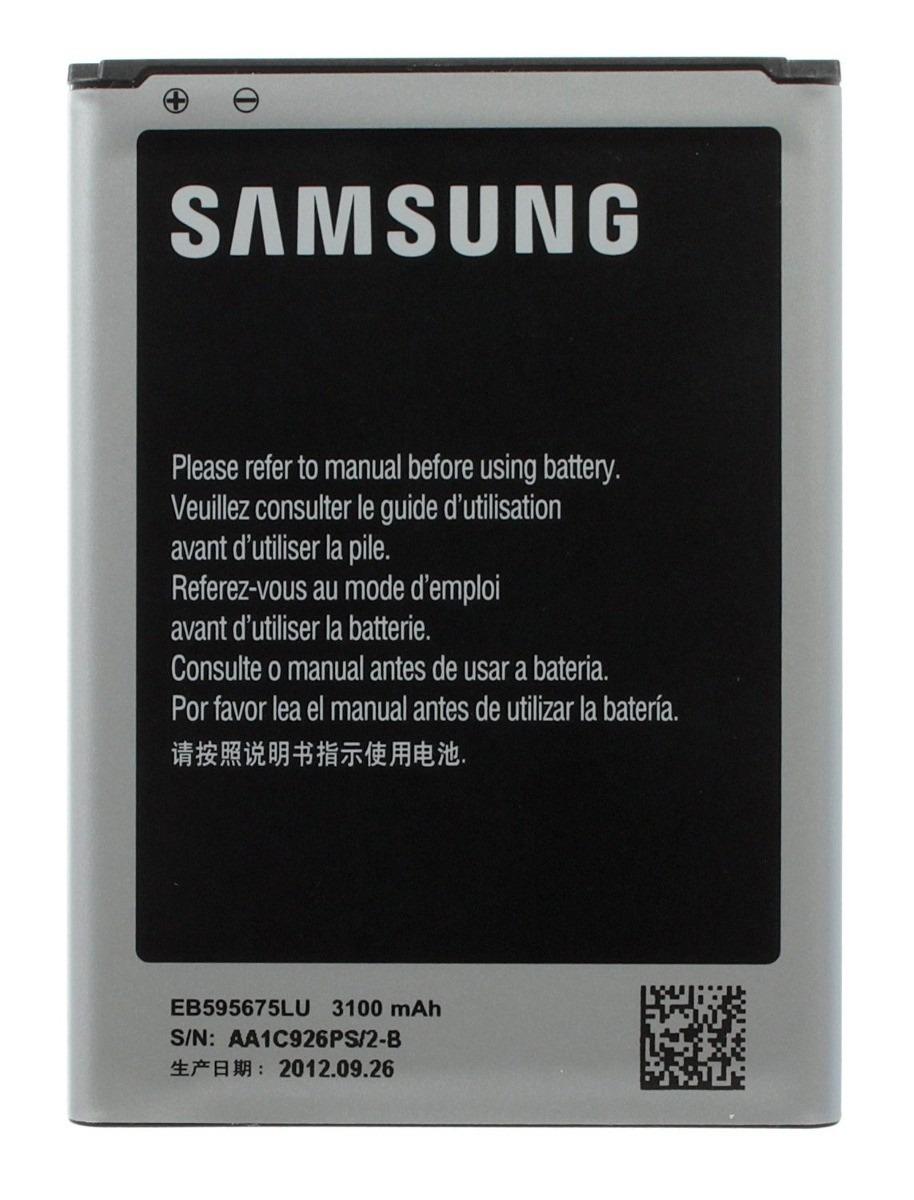 Pila Bateria Samsung Galaxy Note 1, Note 2, Note 3, Note 4