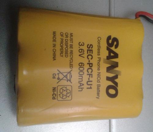 pila bateria sanyo gpt104 recargable