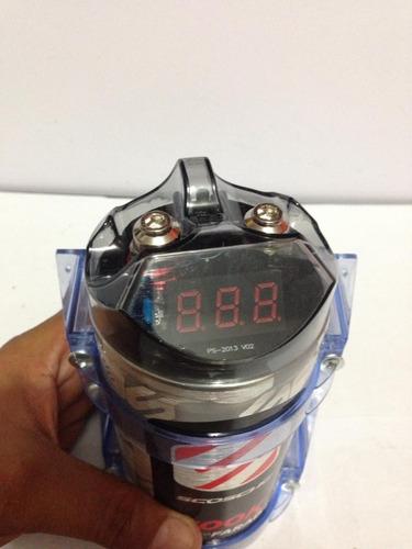 pila capacitador sonido 0.5 farad scosche original 18d