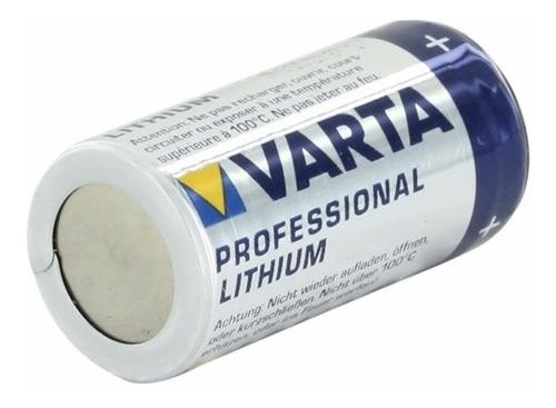 pila cr123 cr123a de litio 3v varta- lithum