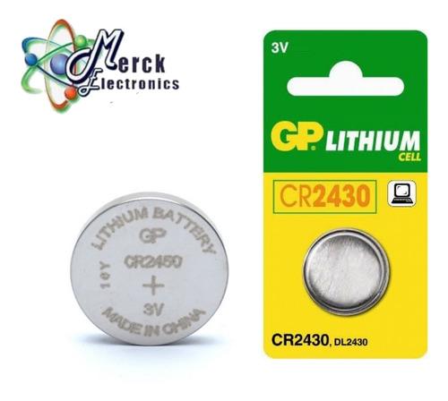 pila cr2430 gp lithium 3v