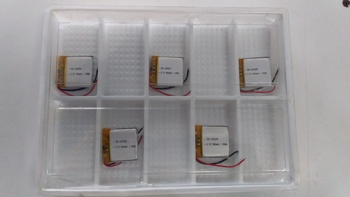 pila de lithium 500mah 3.7v 1.85wh para gps,controles,etc.