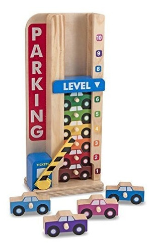 pila de madera  count parking garage classic toy mas gratis