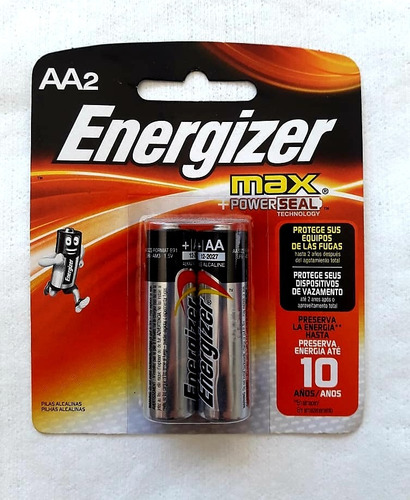 pila energizer 2a