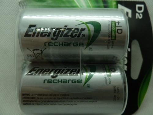 pila energizer d blister 2 und recargable 1,2 voltios