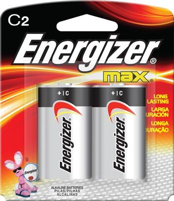 Pila energizer tama o c con 2 pilas alkalina en - Tipos de pilas recargables ...