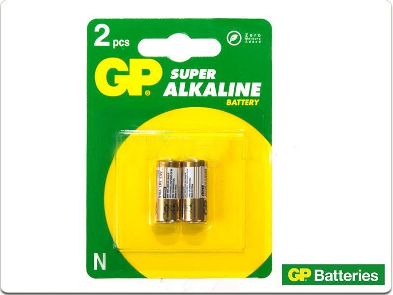 Pila gp x2 tipo n lr01 alkalina nueva sellada bateria - Tipos de pilas recargables ...