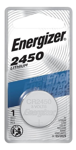 pila litio energizer cr2450 blister cerrado bateria lithium