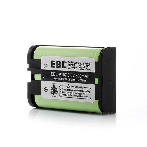 pila o bateria hhr-p107,  teléfono panasonic, garantia