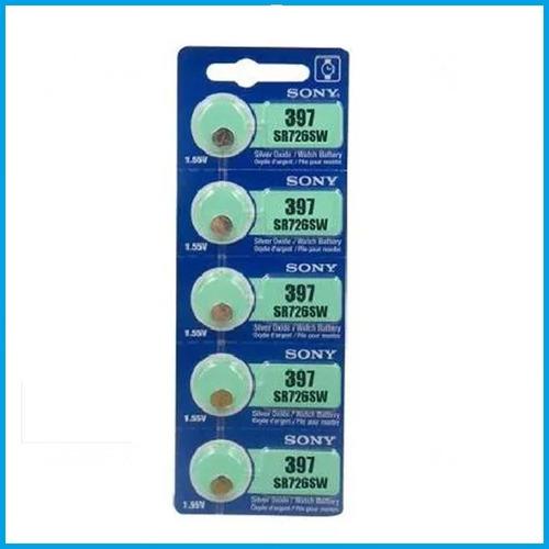 pila oxido de plata boton reloj sony 397 sr726sw 1.55v