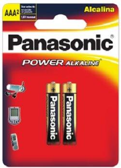 pila panasonic aaa alcalina power 1,5v (blister con 2 unid)