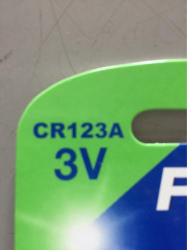 pila para cámara fotográfica cr-123a pkcell recarg.