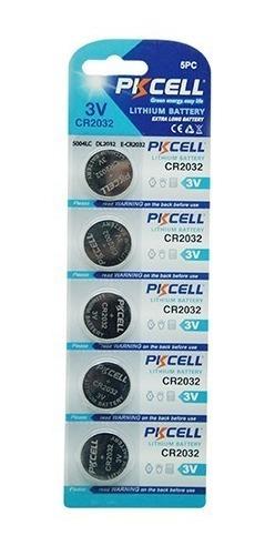 pila pkcell cr2032 3v litio - precio blister de 05 und.